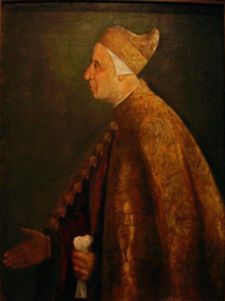 TheDogeNiccoloMarcello, 1542 - Titian