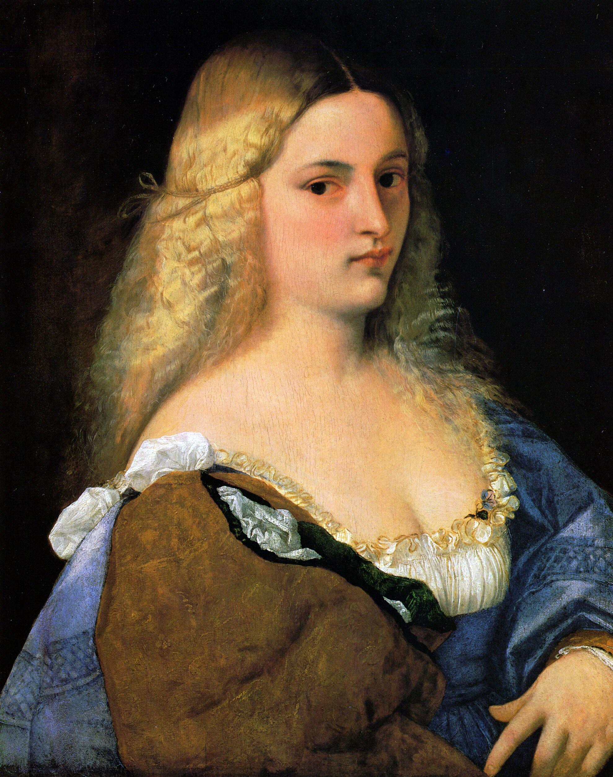 Violante - Titian - WikiArt.org - encyclopedia of visual arts