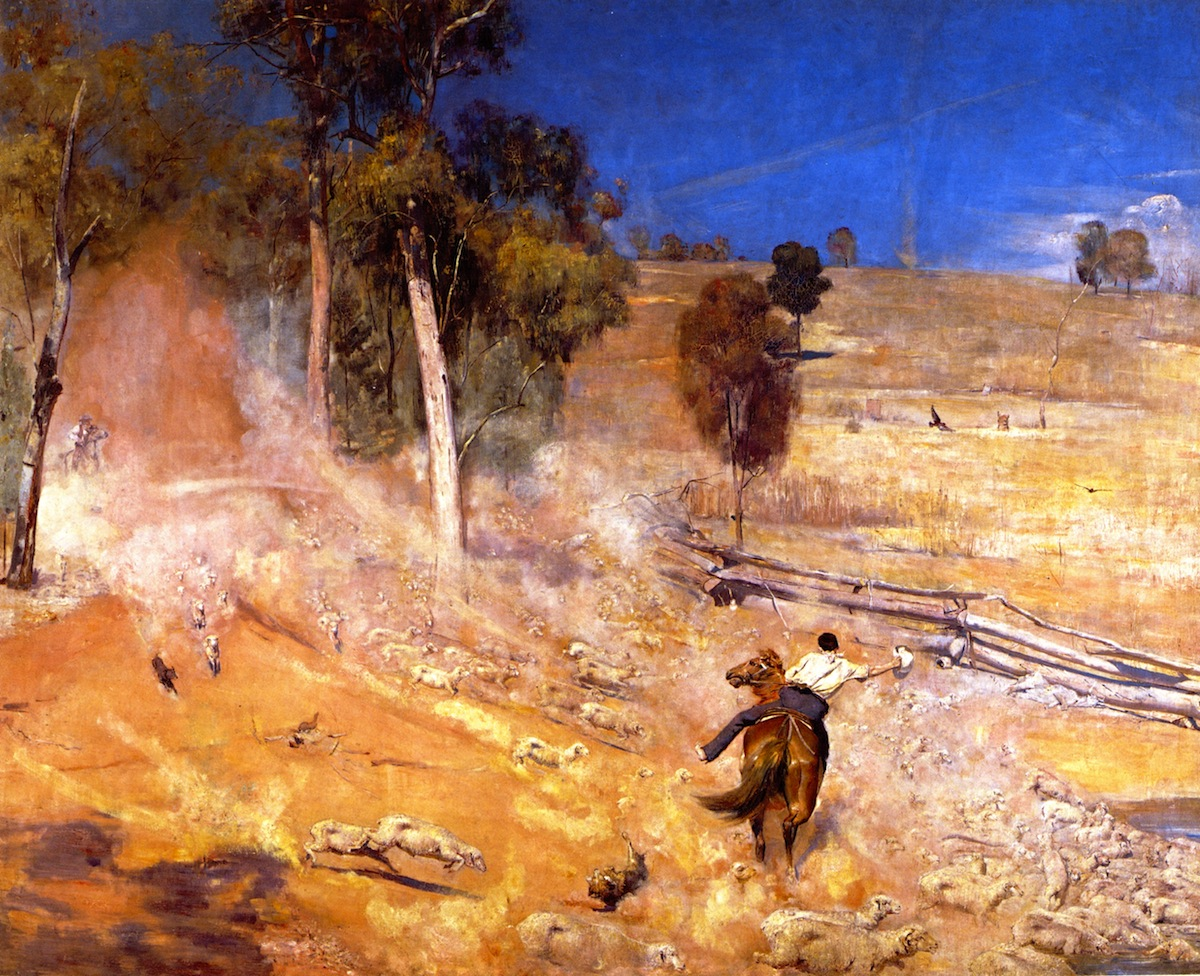 A Break Away!, 1891