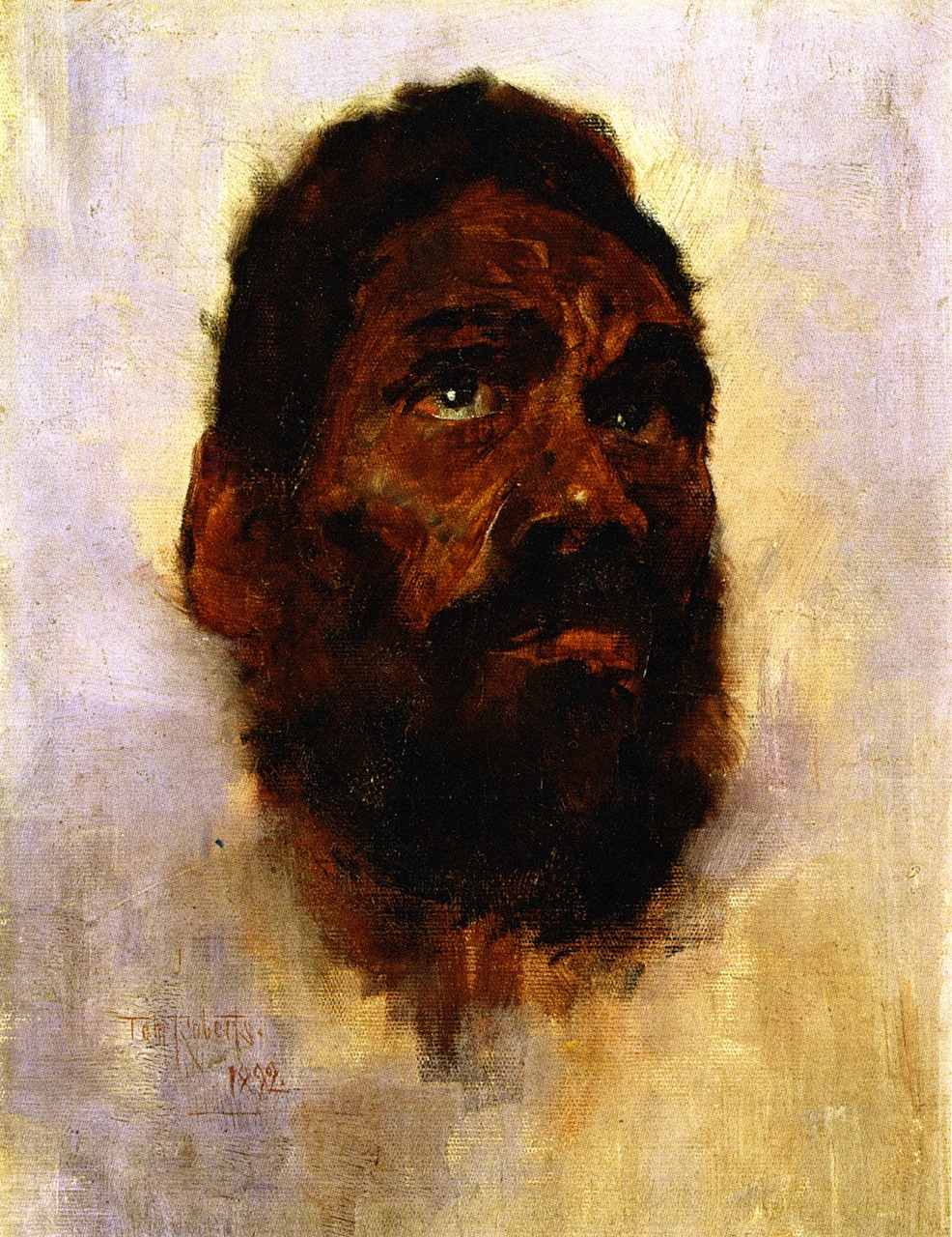 Aboriginal Head - Charlie Turner, 1892
