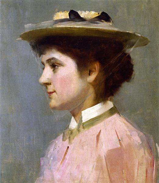 Miss Isobel McDonald, 1895 - Tom Roberts