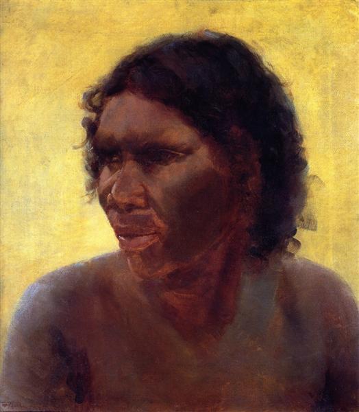 Portrait of an Aboriginal Woman (Maria Yulgilbar), 1895 - Tom Roberts