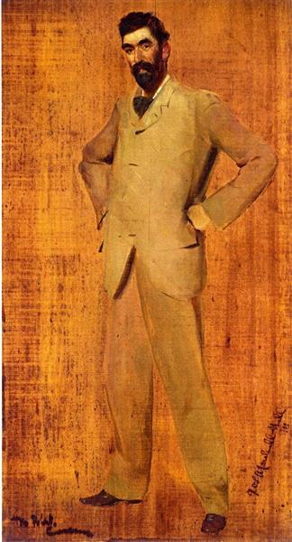 Professor G. W. L. Marshall-Hall, 1899 - Tom Roberts