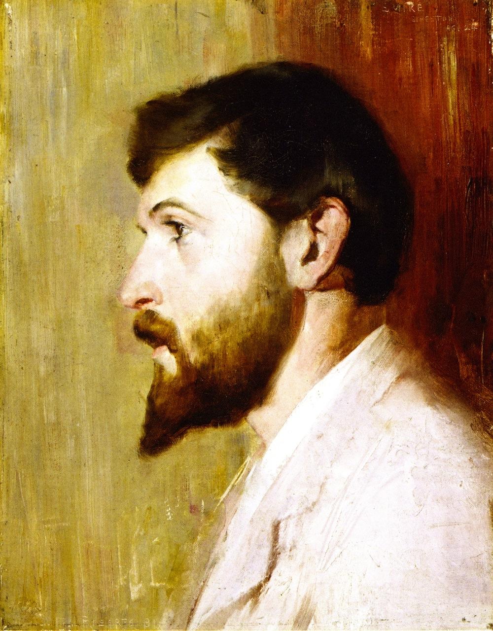 Smike Streeton age 24, 1891
