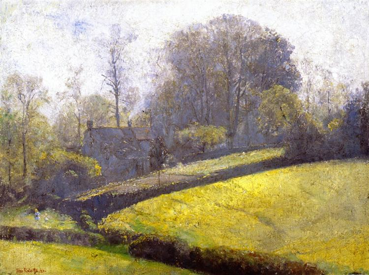 Springtime in Sussex, 1921 - Tom Roberts