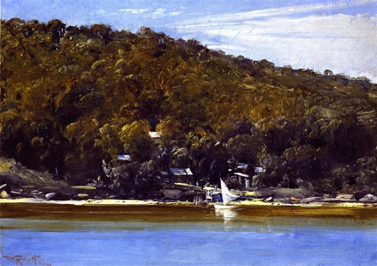 The Camp, Sirius Cove, 1899 - Tom Roberts