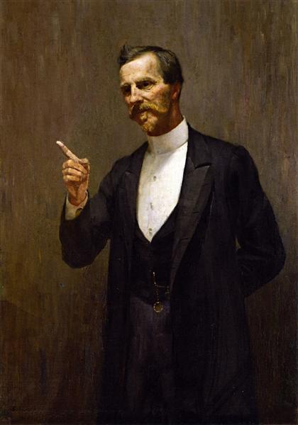 The Hon. Dr. L. I. Smith, 1890 - Tom Roberts