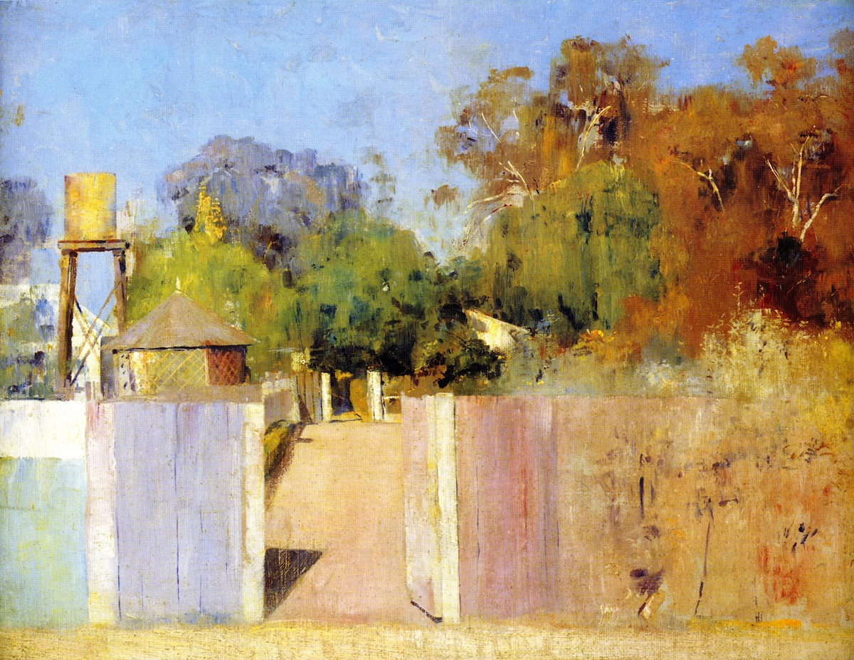Tom Roberts Famous Paintings