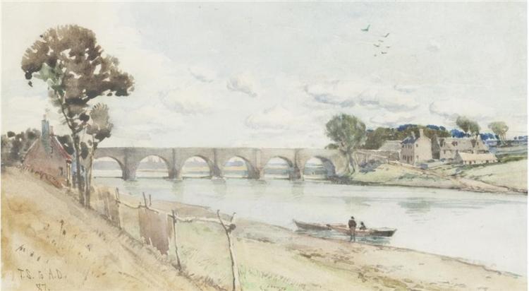 Bridge of Dee - Aberdeen, 1887 - Tom Scott