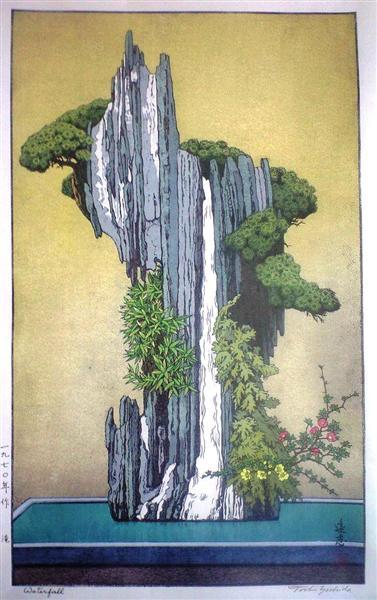 Waterfall, 1970 - Тосі Йосіда
