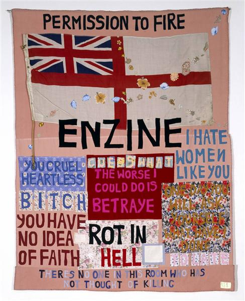 Hate and Power Can be a Terrible Thing, 2004 - Tracey Emin