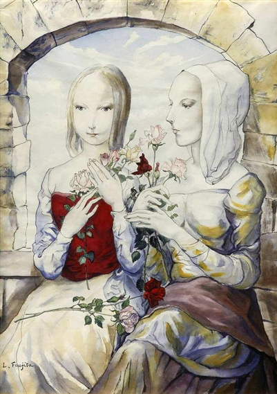 Les Deux Soeurs, 1964 - Цуґухару Фудзіта