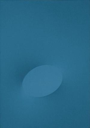 Blu, 1968 - Turi Simeti