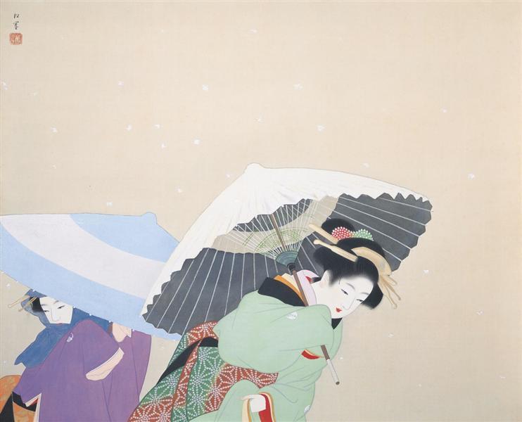 Snowflakes, 1944 - Uemura Shōen
