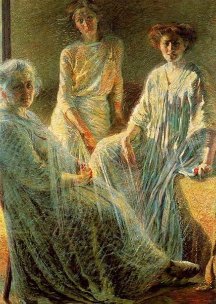 Three Women, 1910 - Umberto Boccioni