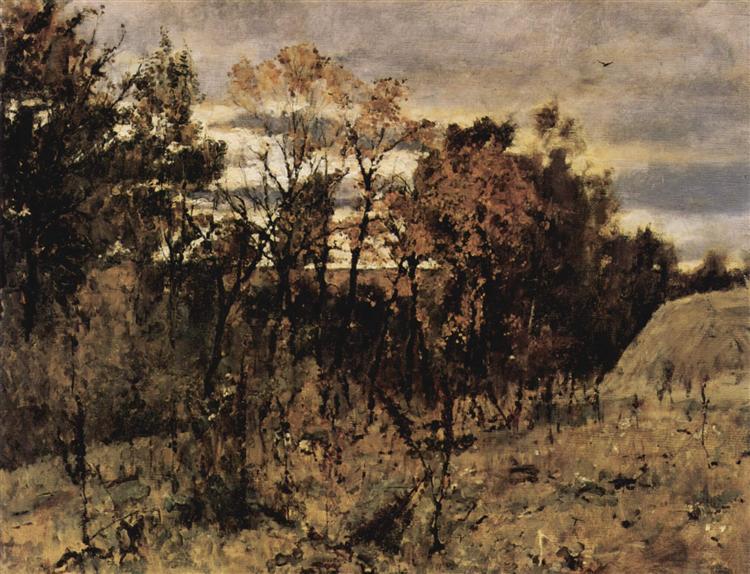 Autumn evening. Domotkanovo, 1886 - Valentin Serov