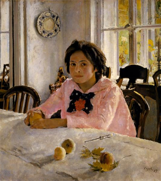 Girl with Peaches, 1887 - Valentin Serov