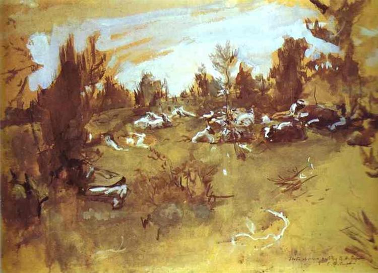 Herd - Valentin Serov