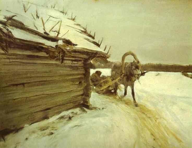 In Winter, 1898 - Valentin Serov