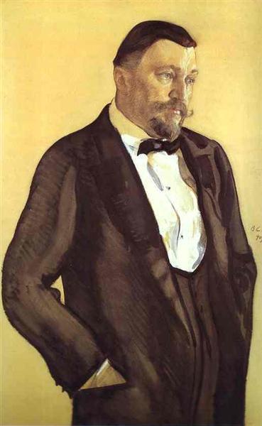 Portrait of Alexei Morozov, 1909 - Valentin Serov
