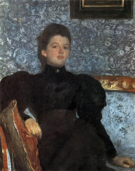 Portrait of Countess Varvara Musina-Pushkina, 1895 - Valentin Serov