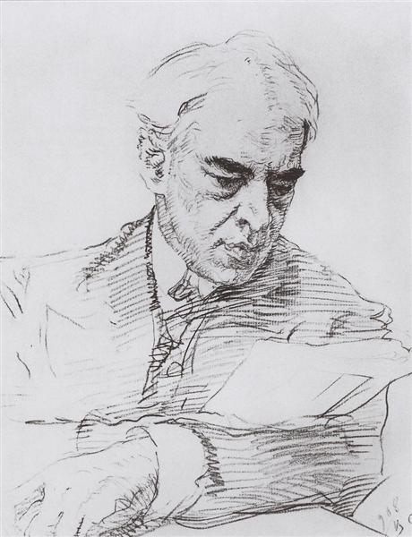 Portrait of Konstantin Stanislavski, 1908 - Valentin Serov