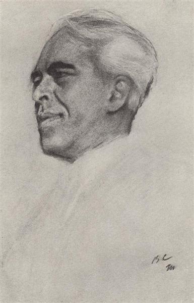 Portrait of Konstantin Stanislavski, 1911 - Valentin Serov