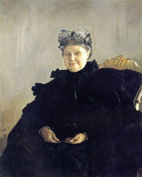 Portrait of Maria Morozova, 1897 - Valentin Serov