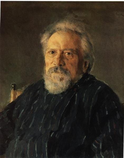 Portrait of Nikolay Leskov, 1891 - Valentin Serov