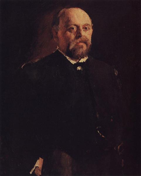 Portrait of Savva Mamontov, 1887 - Valentin Serov