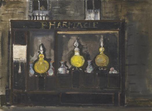 Apotheke in Paris, 1957 - Варлен