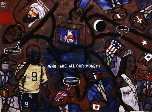 Who Take All Our Money? - Vasan Sitthiket