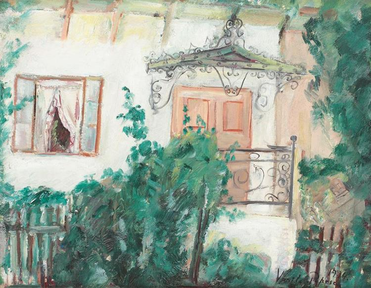 Marquee House (Painter's Wife's Home), 1934 - Vasile Popescu