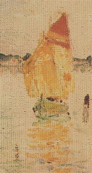 Red sail, 1911 - Vasily Polenov