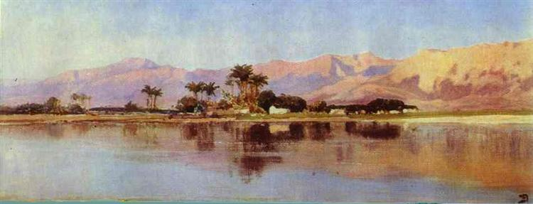 The Nile, 1881 - Vasily Polenov