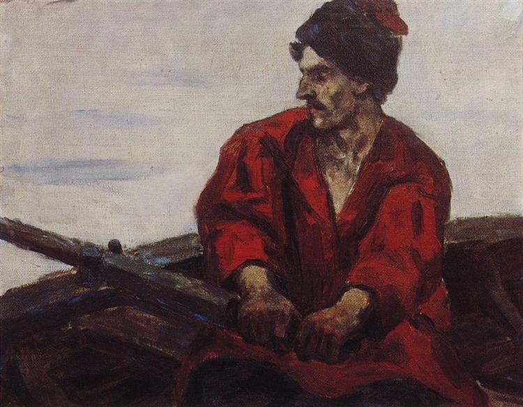 Boatsman, 1912 - Vasily Surikov