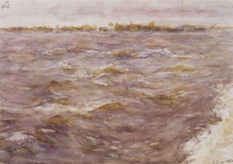 River Ob, 1895 - Vasily Surikov