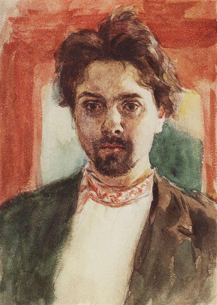 Self-Portrait, c.1884 - Vasily Surikov