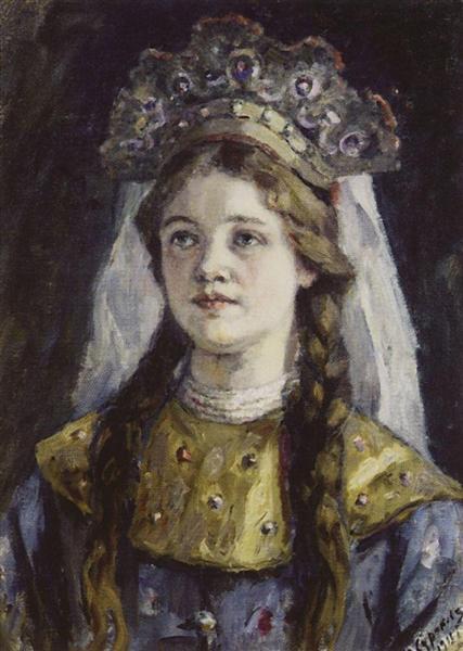 Tsarevna, 1911 - Vasily Surikov