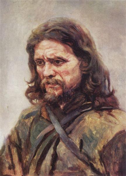 Wanderer, 1885 - Vasily Surikov