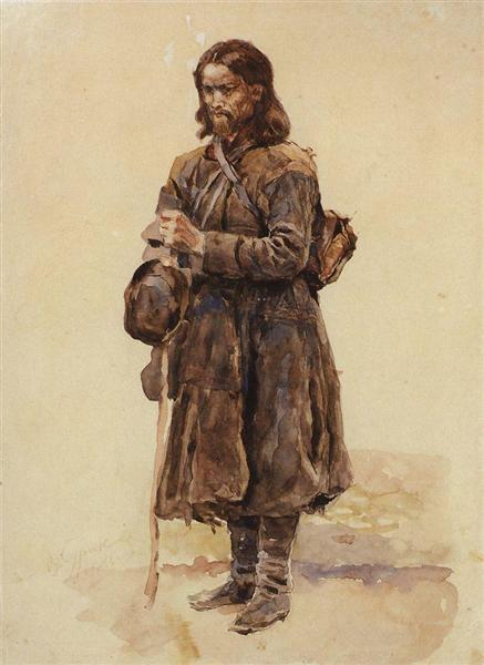 Wanderer, 1886 - Vasily Surikov