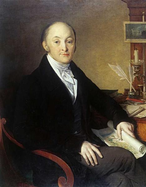 Mikhail Mikhailovich Speransky - Vasily Tropinin