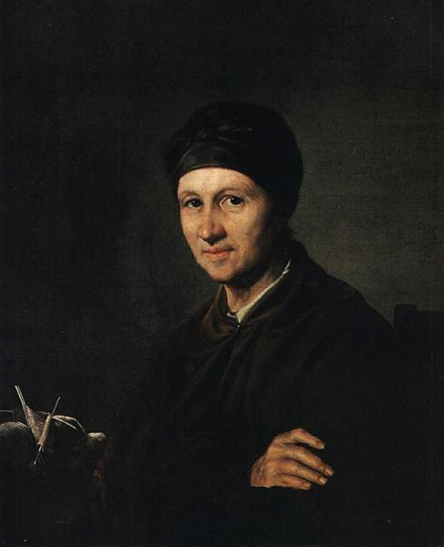 Portrait of A. I. Tropinina, 1820 - Vasily Tropinin