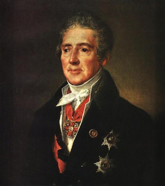 Portrait of I. I. Dmitriyev, 1835 - Vasily Tropinin
