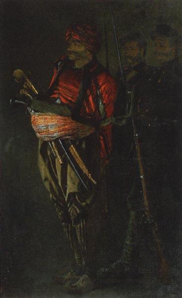Bashi-bazouk (Albanian), 1877 - 1878 - Vasily Vereshchagin