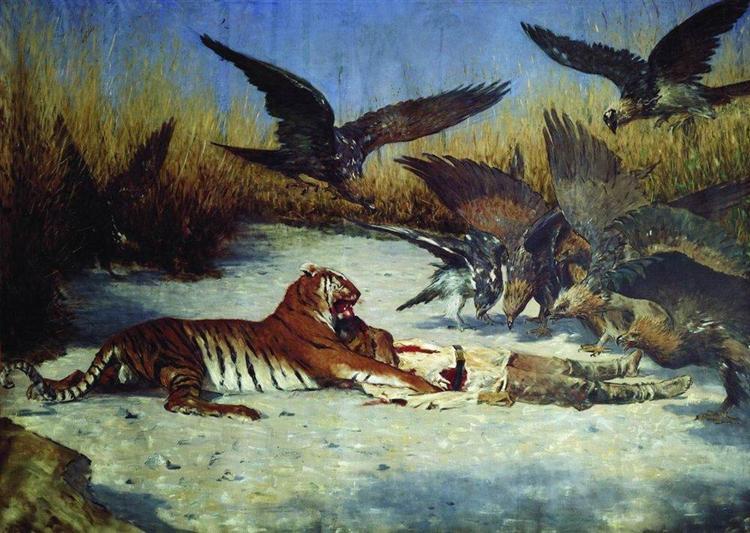 Cannibal - Vasily Vereshchagin
