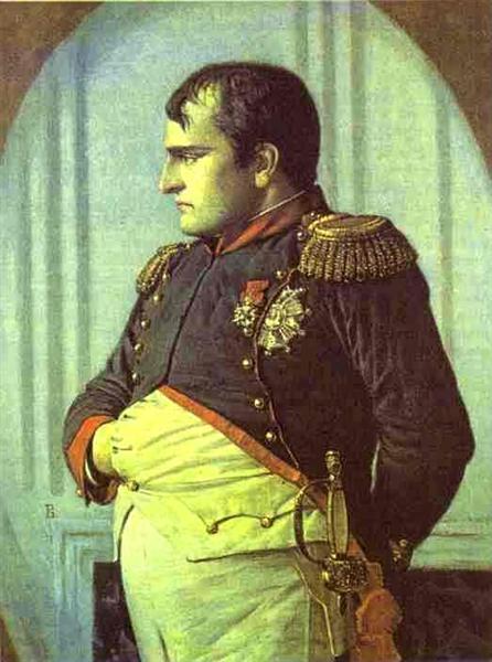 Napoleon in the Petroff Palace, 1887 - 1895 - Vasily Vereshchagin