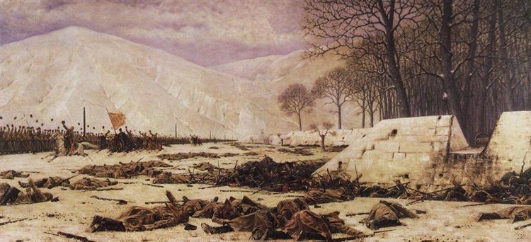 Shipka field, 1878 - 1879 - Vasily Vereshchagin