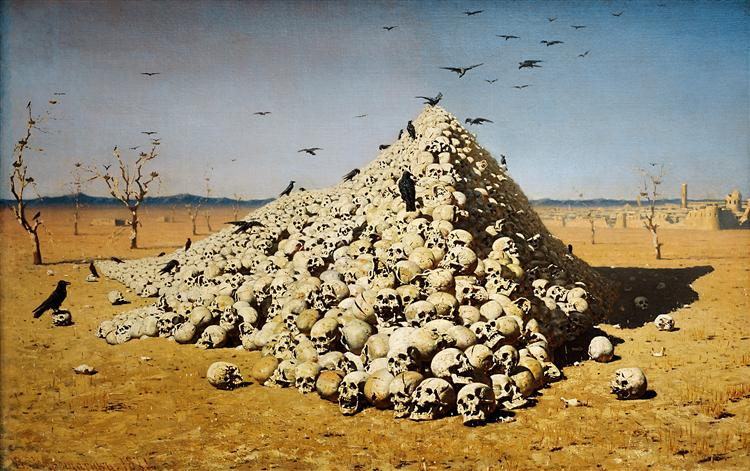 The Apotheosis of War - Vasily Vereshchagin