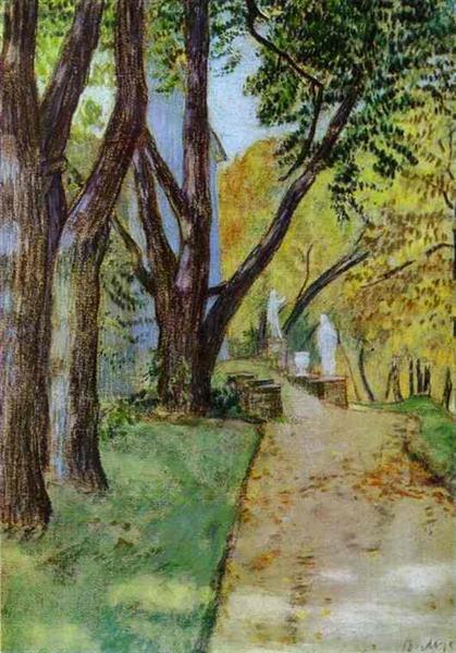 A Walk in the Park, 1904 - Victor Borisov-Musatov